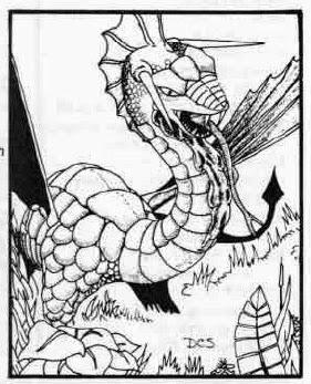 Dungeon Fantastic D Amp D 5e Monster Manual Black Dragon
