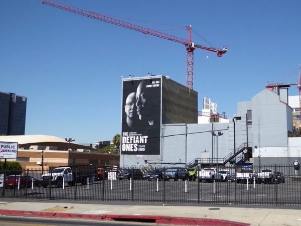Defiant Ones series premiere billboard