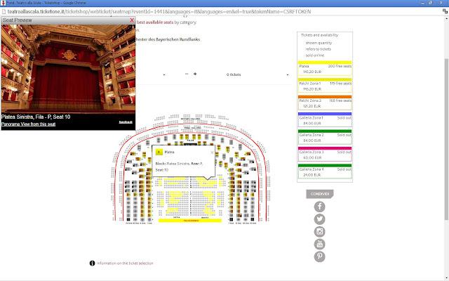 Como comprar ingresso para o Teatro Scala de Milão?