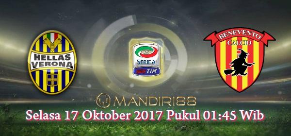 Kedua tim ini akan coba membalikkan performa mengerikan mereka di awal animo ini Berita Terhangat Prediksi Bola : Hellas Verona Vs Benevento , Selasa 17 Oktober 2017 Pukul 01.45 WIB