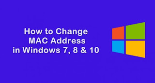How to Change MAC Address in Windows 7, 8 & 10 using Technitium Mac Address Changer