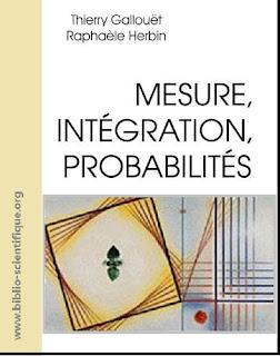 Livre : Mesure, intégration, probabilités