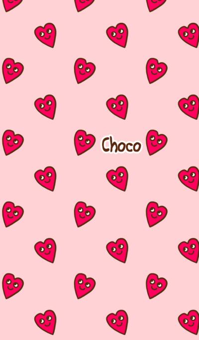 Kawaii Choco Heart