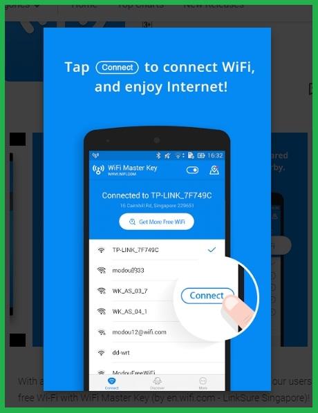 Aplikasi #1 Penguat Sinyal WiFi Android Dengan WiFi Master Key