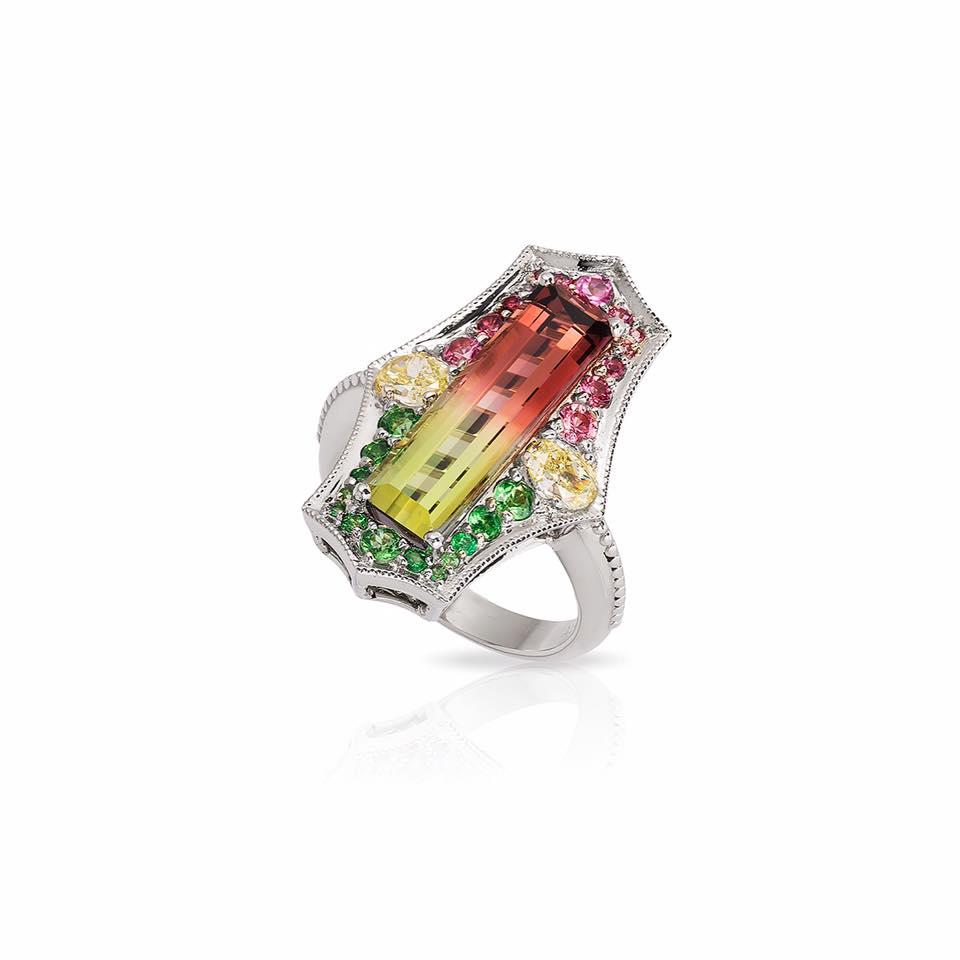 Natural Alexandrite Wedding Rings 73 Lovely K white gold ring