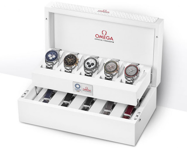 Omega Speedmaster Tokyo 2020 Limited Editions special box