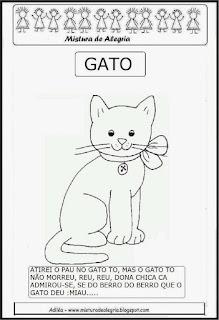 Folclore, parlenda sobre gato