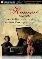 Laura Vadjon i Krešimir Hass, koncert, Bol slike otok Brač Online