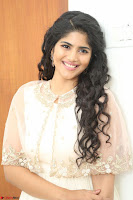Megha Akash in beautiful Cream Transparent Anarkali Dress at Pre release function of Movie LIE ~ Celebrities Galleries 064.JPG
