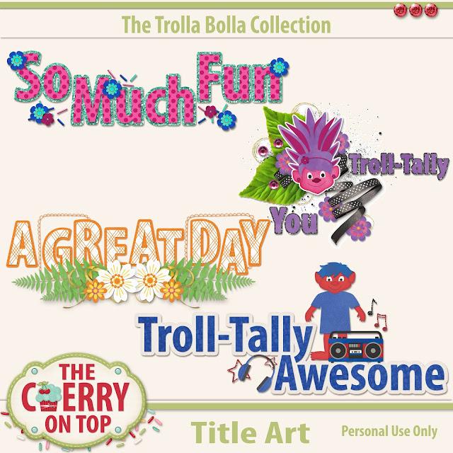Trolla Bolla Title Art
