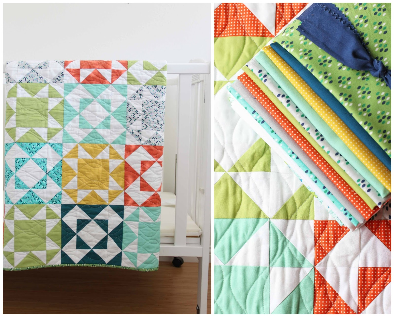 V and Co : Endless Summer Baby Quilt Kits