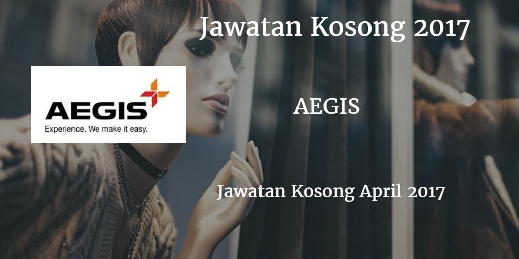 Jawatan Kosong AEGIS GLOBAL April 2017