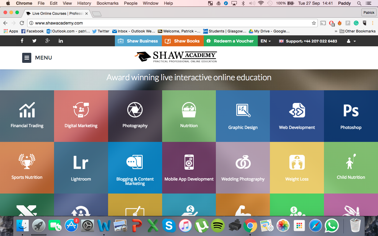 Shaw Academy - Diploma in Digital Marketing | Wasted Little PJ Scottish Male Lifestyle Blog