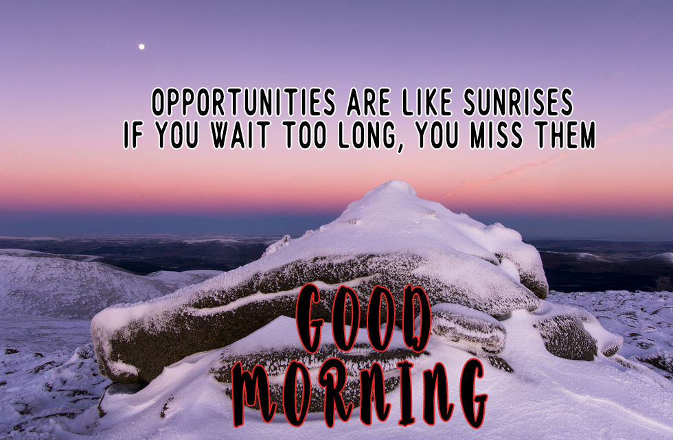 good morning photos of nature with saying and quotes