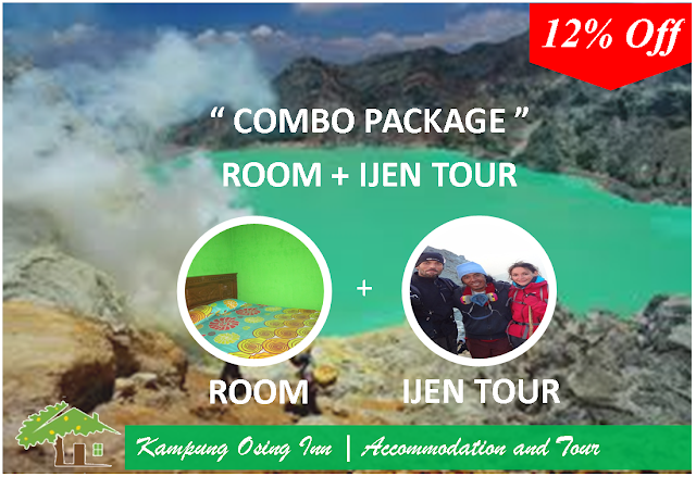 Combo Package - Room And Kawah Ijen Tour