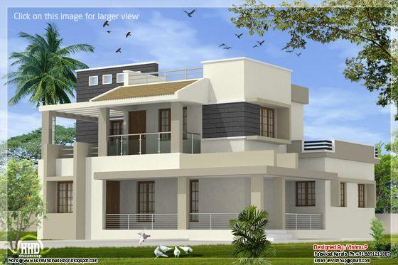 Modern Contemporary 4 Bedroom Villa In 2170 Sq Feet Home