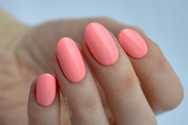 deco miami cake neon pink swatch