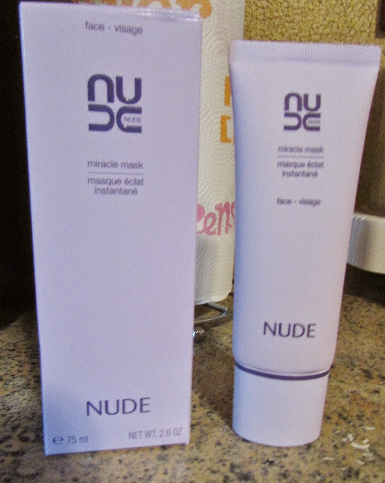 Nude miracle face mask would