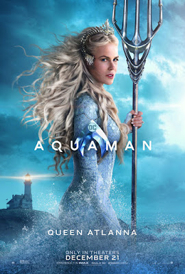 DC Comics' Aquaman Theatrical One Sheet Character Movie Posters