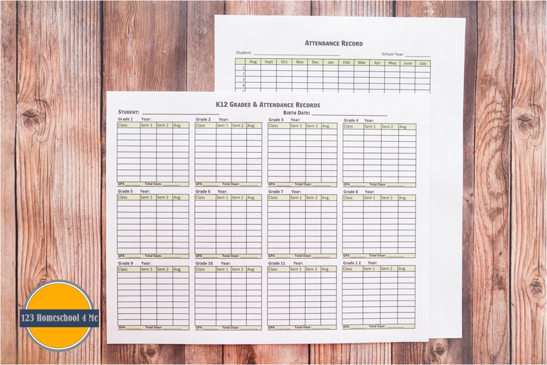 monthly attendance sheet format
