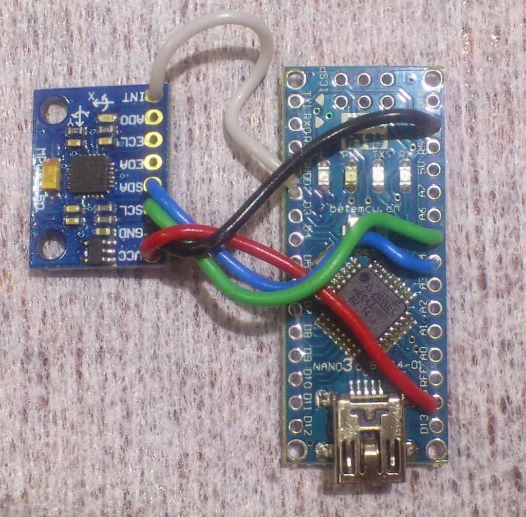 Arduino Nano + IMU