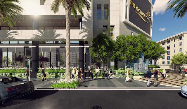 Trung tâm thương mại tại The Golden Palm