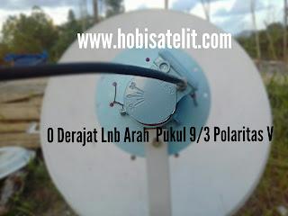 Cara tracking Satelit Thaicom 5/6 C Band Dengan Parabola Mini