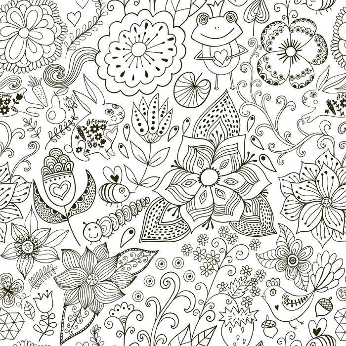 How to Create Your Own Coloring Pages | Use free images to create unique and fun coloring pages!