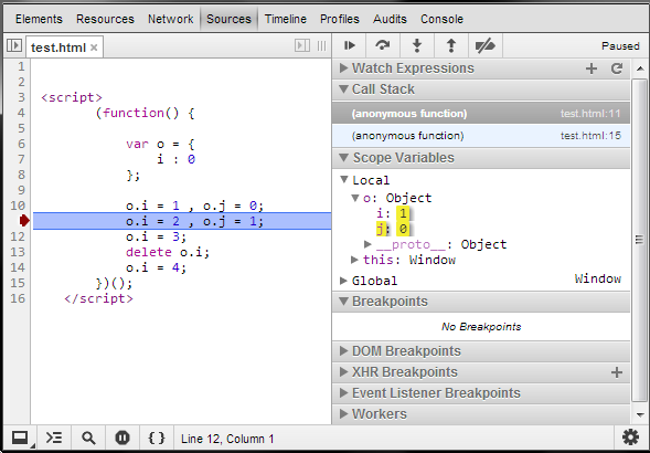 Sandip Chitale's Blog: Chrome Developer Tools Enhancement
