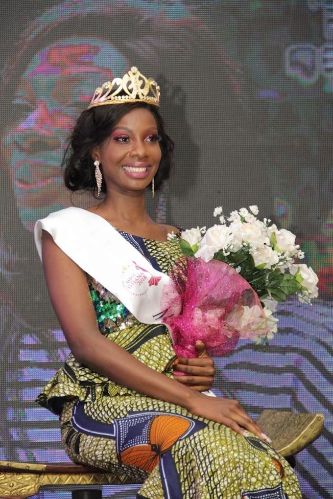 Nana Ama Benson wins Miss Ghana 2018