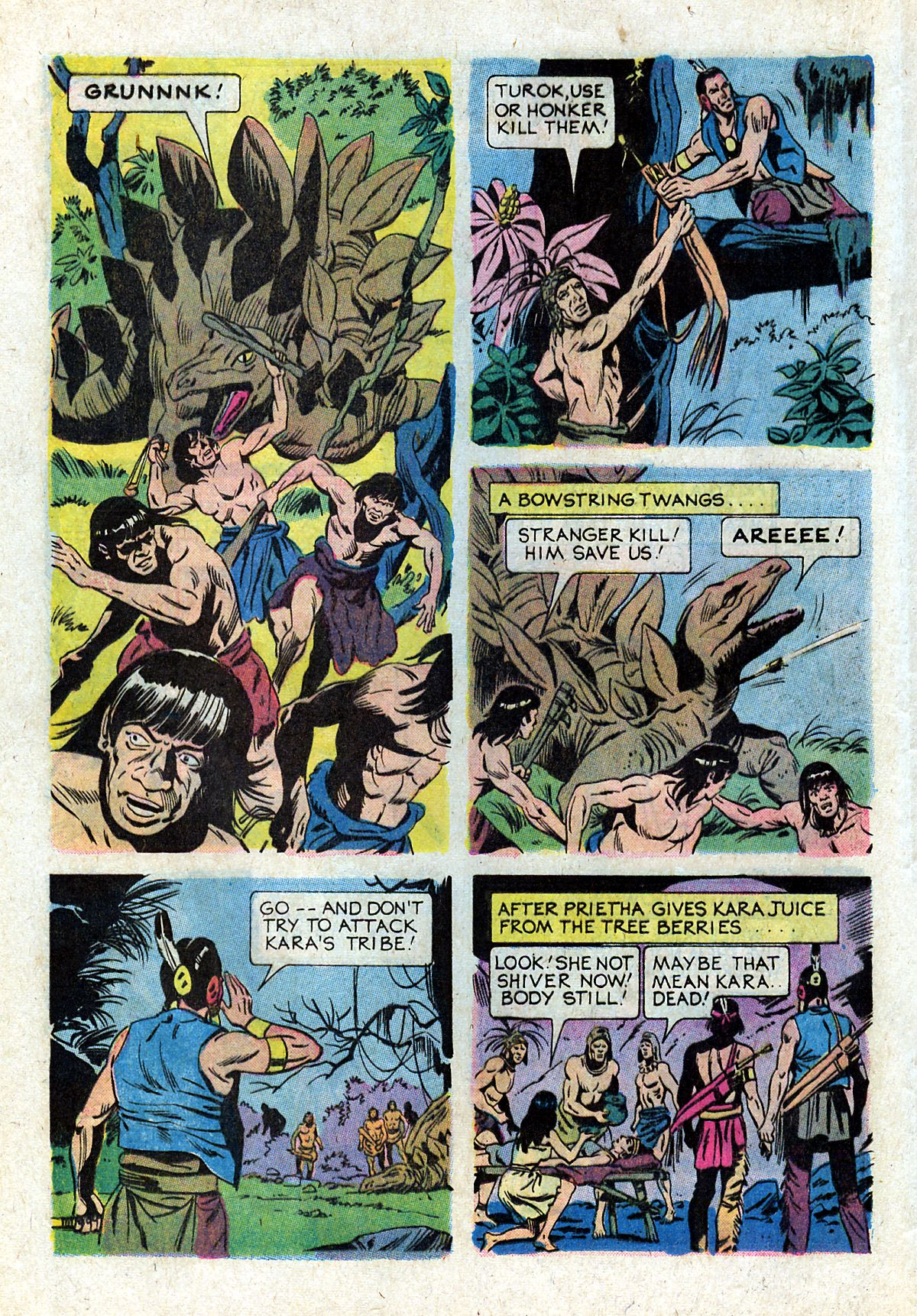 Read online Turok, Son of Stone comic -  Issue #93 - 16