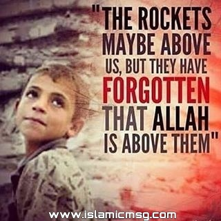rocket allah sky picture message