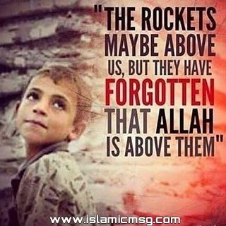 rocket allah sky picture message