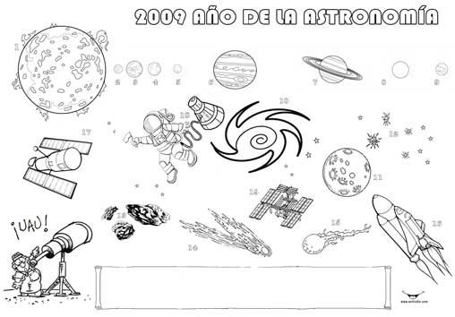 Dibujos Para Colorear Del Sistema Solar Para Ninos: Dibujos Para Colorear.