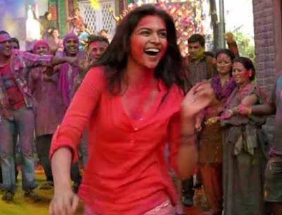 Deepika Padukone, Holi, festival od Colors, Vidya Balan, Shraddha Kapoor