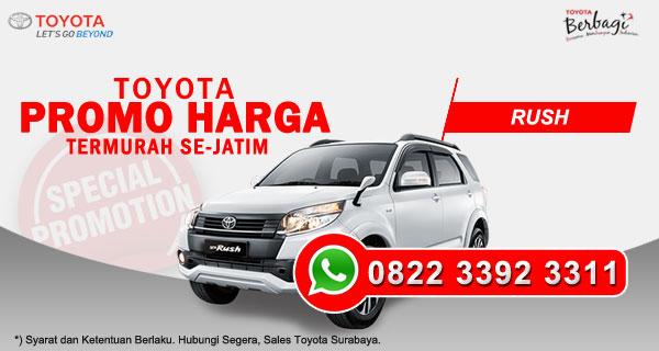 Promo Harga Toyota Rush Surabaya