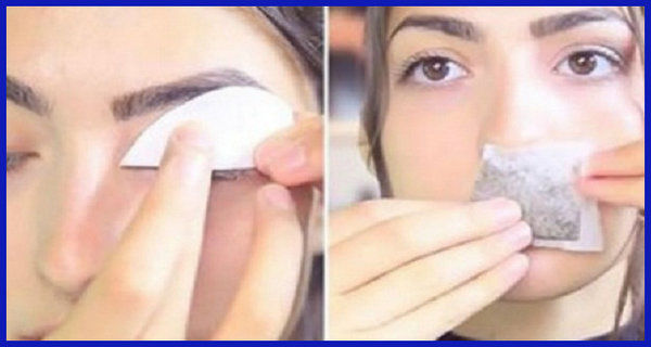 She Applied A Piece Of Paper Onto Her Eyelid- When She Removed It, Something Unexpected Occurred!