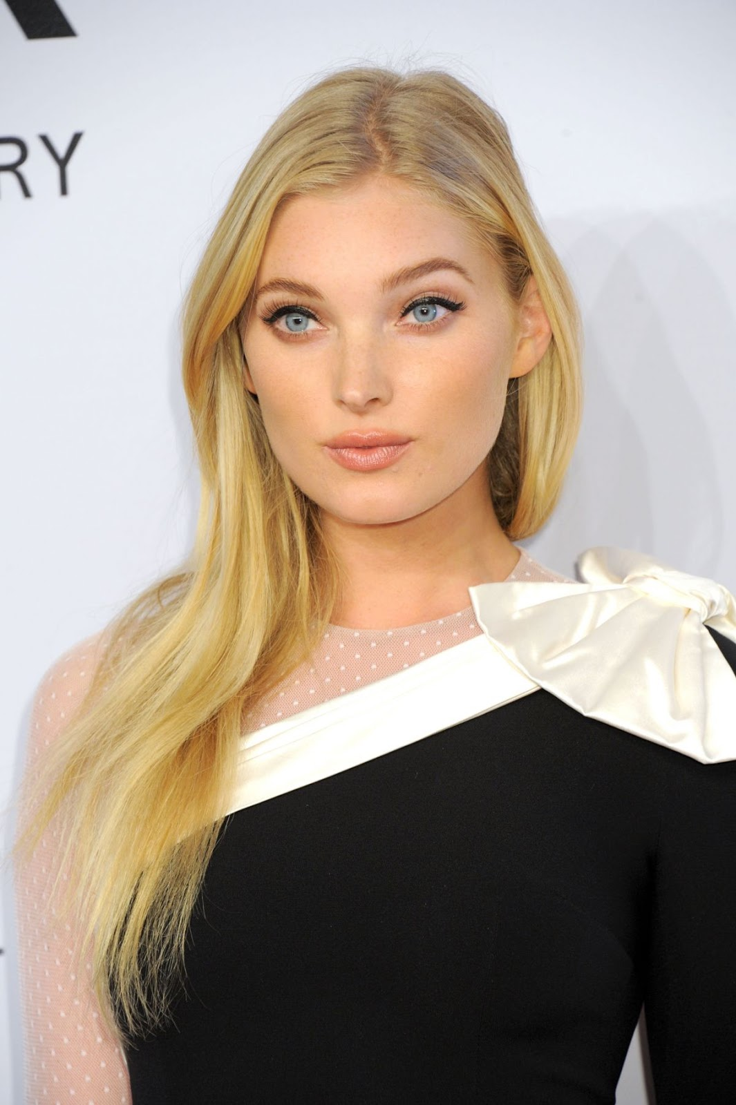 Victoria's Secret Supermodel Elsa Hosk at 2016 amfAR New York Gala