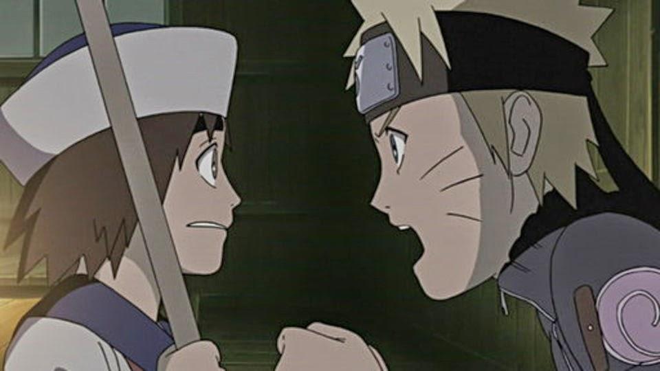 Hishaku y Naruto