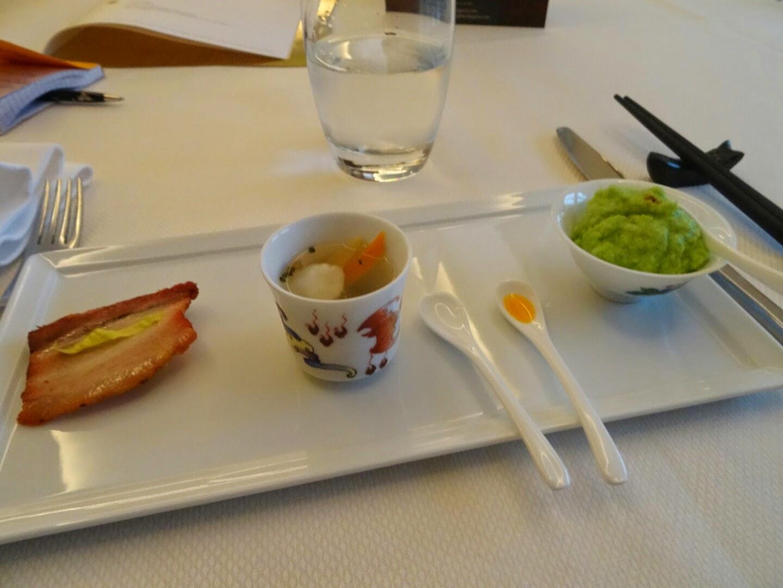 3 entrées du restaurant Family Li Impérial Cuisine Paris 8 ème.