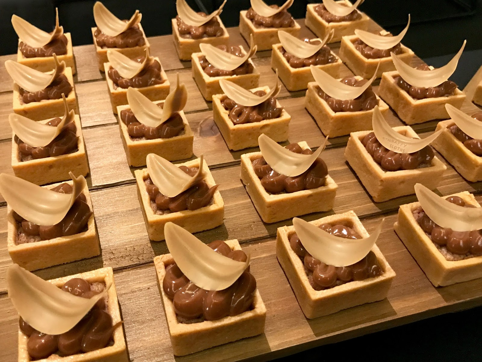 EAT! Pastry | Chocolate Tarts from Valrhona Chocolates