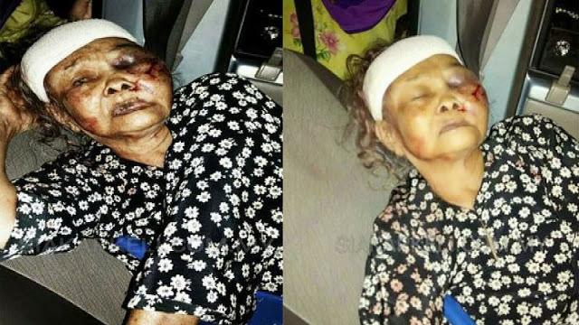 Sungguh Miris, Mencuri Karena Kelaparan, Seorang Nenek Dipukuli Hingga Babak Belur