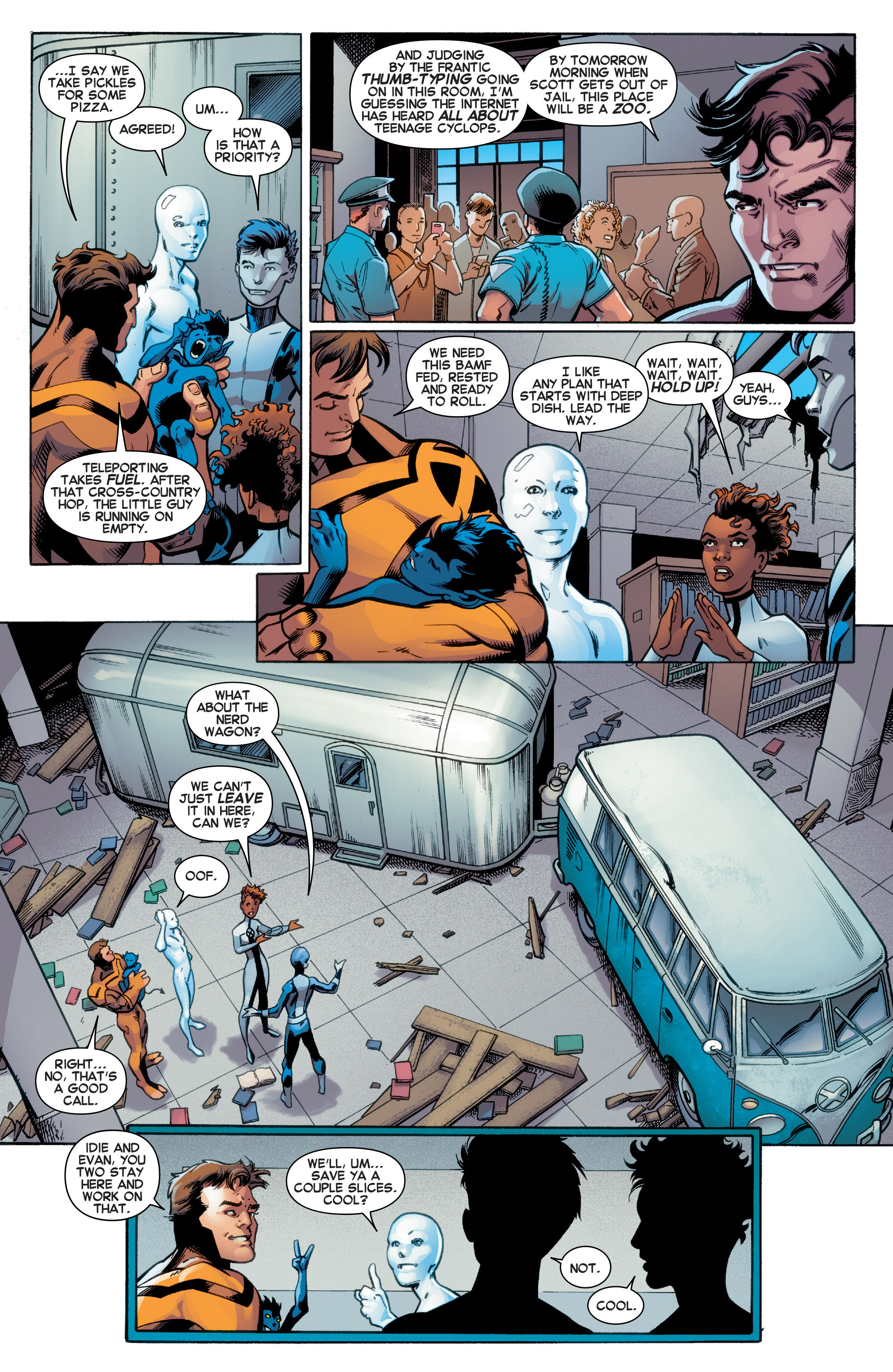 Read online All-New X-Men (2016) comic -  Issue #2 - 8