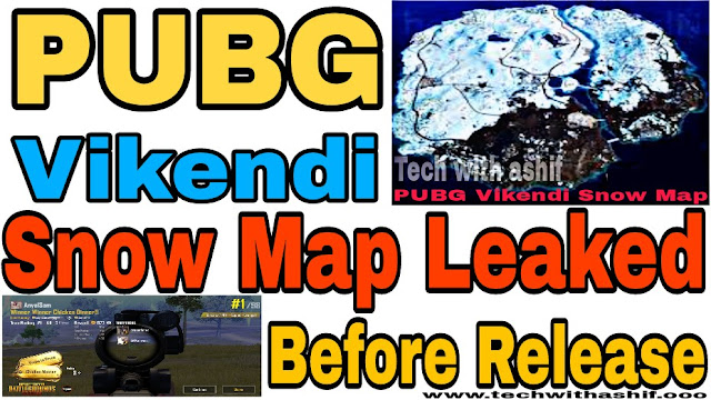 PUBG Vikendi Snow Map Leaked Before Release