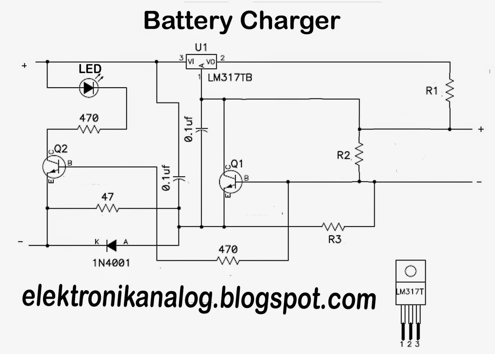 In Car Charger And Switcher Circuit For Sla Battery Diagram Download
