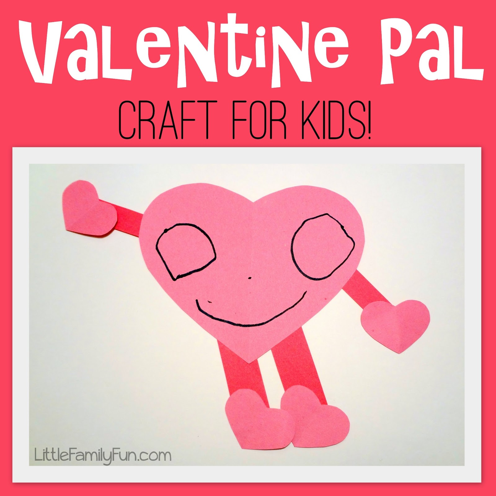 Valentine Pal Craft For Kids
