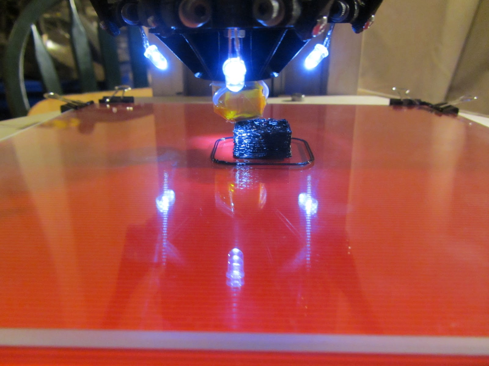 Drew's Robots: Drew's Rostock: The long quest for a successfull print