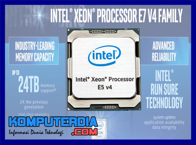 Pihak intel secara resmi kenalkan Processor Broadwell 48-Thread
