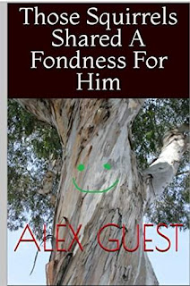 Those Squirrels Shared A Fondness For Him - a strange and twisted crime tale book by Alex Guest