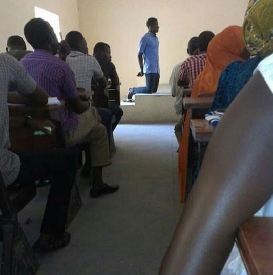 UNIMAID undergraduate asked to kneel down by lecturer